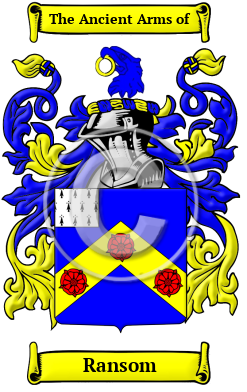 Ransom Name Meaning Family History Family Crest Coats Of Arms Family man man devoted to wife and children, man inclined to lead a domestic life is 1856 (earlier it meant thief, 1788, from family in a slang sense of the fraternity of thieves). ransom name meaning family history