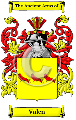 Valen Name Meaning, Family History, Family Crest & Coats ...