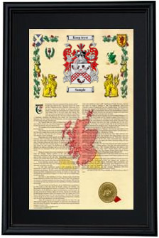 Special Deluxe Armorial Frame