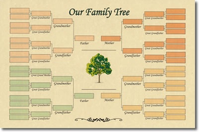 Family crests and coats of arms by house of names for 11 generation family tree template