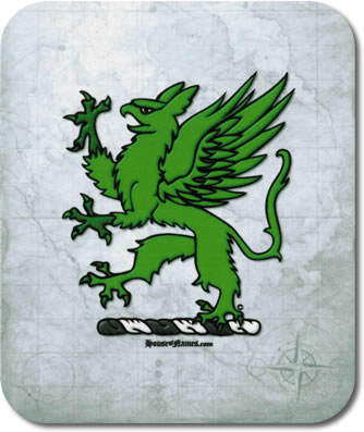 Griffin of Heraldry Mouse Pad