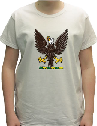 Eagle Displayed Women's T-Shirt