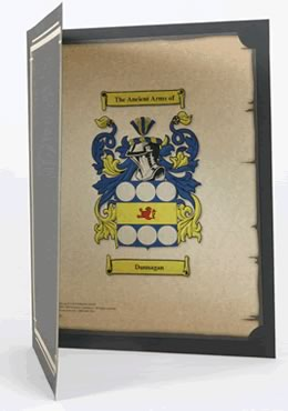 Coat of Arms with Presentation Folder